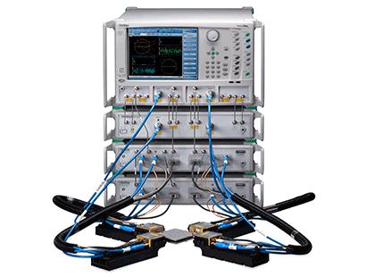 広帯域4ポートベクトルネットワークアナライザ ME7838A4