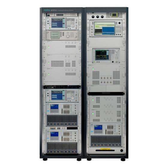 LTE-Advanced RF コンフォーマンステストシステム ME7873LA 前面