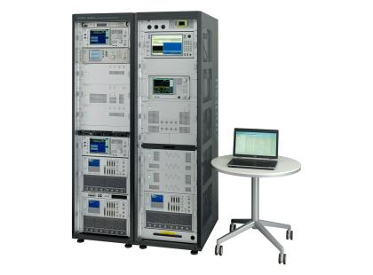 LTE-Advanced RF コンフォーマンステストシステム ME7873LA 全景(PCあり)