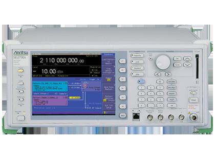 ベクトル信号発生器 MG3700A