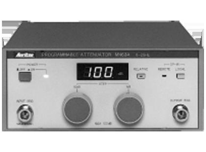 Programmable Attenuator MN63A/65A/72A/64B