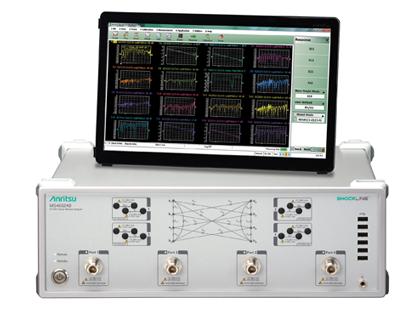 ShockLine 4-Port Performance RF VNA MS46524B with monitor