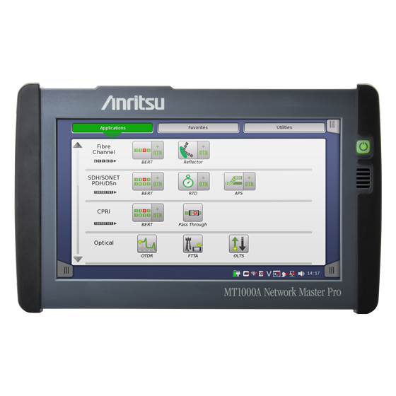 Anritsu Network Master Pro MT1000A front view