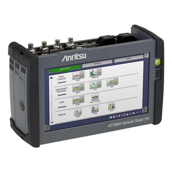 Anritsu Network Master Pro MT1000A side view