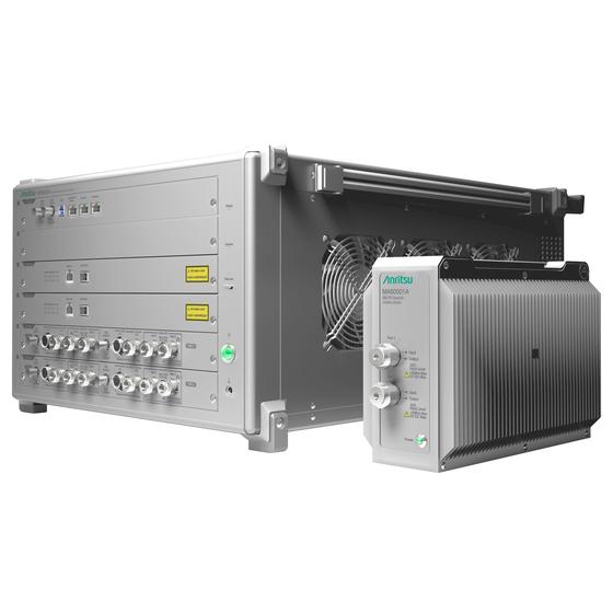 MT8000Aとミリ波用コンバータ