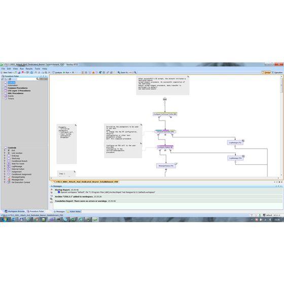 RTDを使ったMT8000Aプロトコルテストシナリオ作成