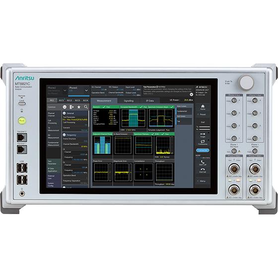Radio Communication Analyzer Mt8821c Anritsu America