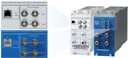With a built-in Audio analyzer and Audio Generator,it make saving space and increasing measurement efficiency