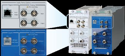 Благодаря встроенному аудиоанализатору и аудиогенератору он экономит место и повышает эффективность измерений.