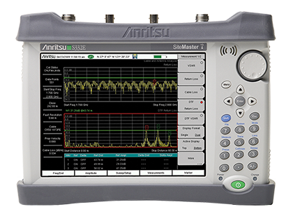 site master cable antenna analyzer spectrum analyzer s332e rh anritsu com iPad Manual User Guide Icon