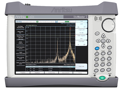 site master cable antenna analyzer spectrum analyzer s362e rh anritsu com anritsu site master user guide anritsu site master s331a user guide