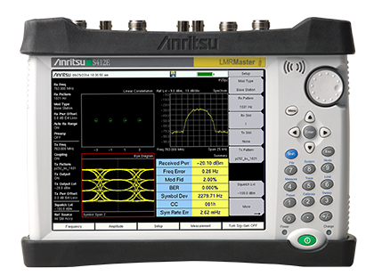 LMR Master Land Mobile Radio Modulation Analyzer S412E | Anritsu America