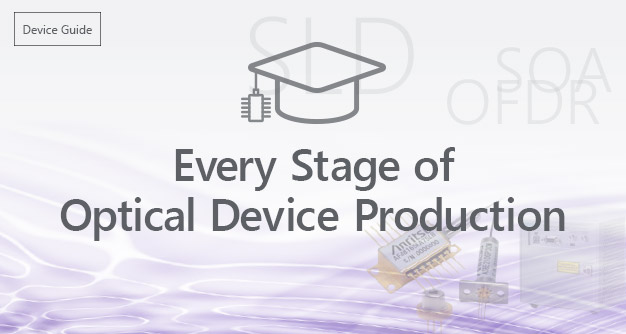 Every Stage of Optical Device Production