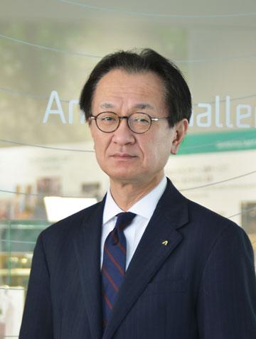 Company President, Sensing & Devices Company: Yasunobu Hashimoto