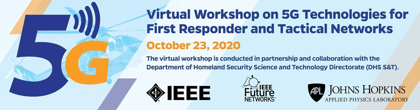 5g Virtual Workshop for first responders and tactical networks