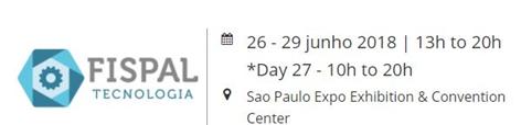 FISPAL Tecnologia Brazil 2018 logo