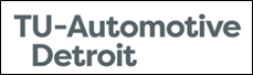 Logo for TU Automotive Detroit 2018