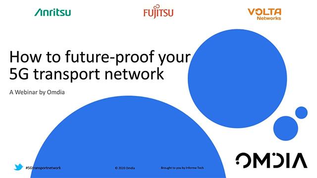 将来を見据えた5Gモバイルトランスポート保証方法:(協業ウェビナー、英語版)