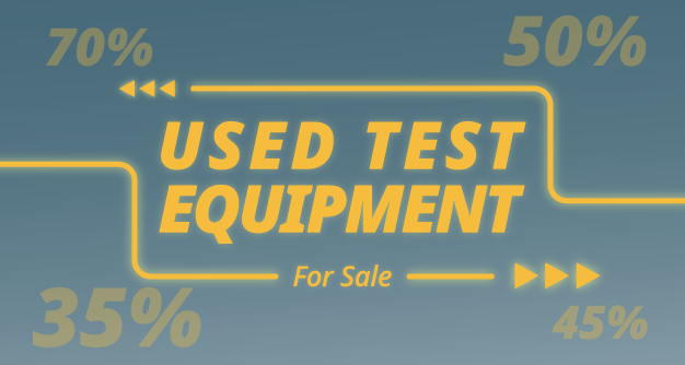 Ex-Demo Sale - Used Test Equipment