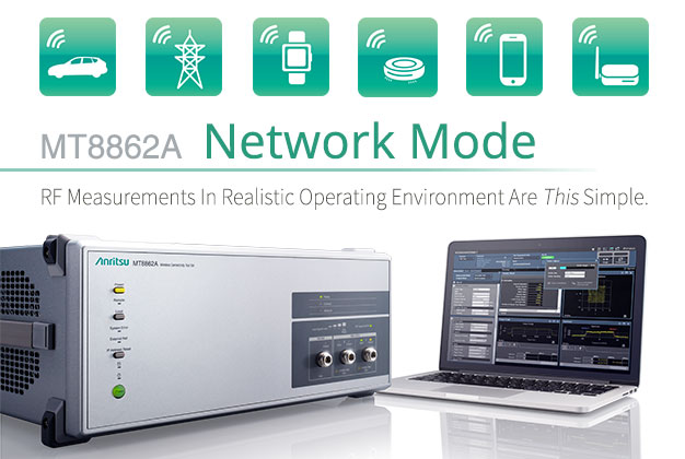 MT8862A Network Mode