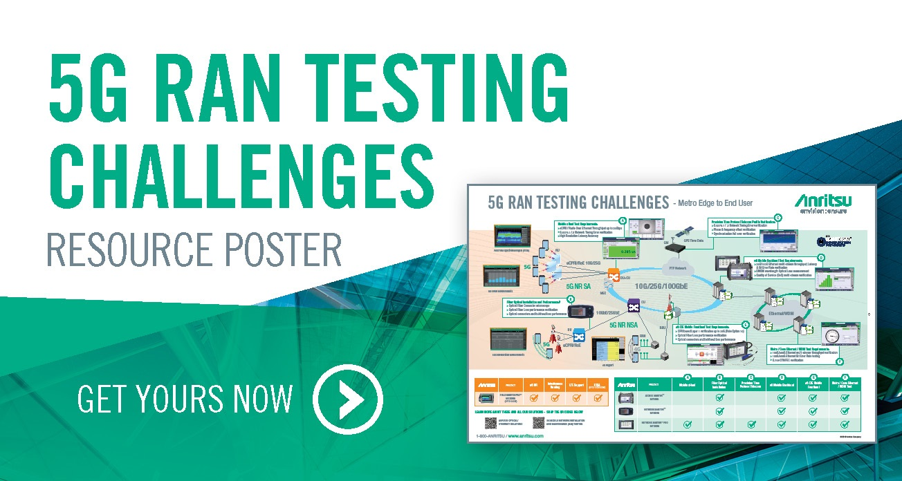 5G RAN Testing Challenges Resource Poster