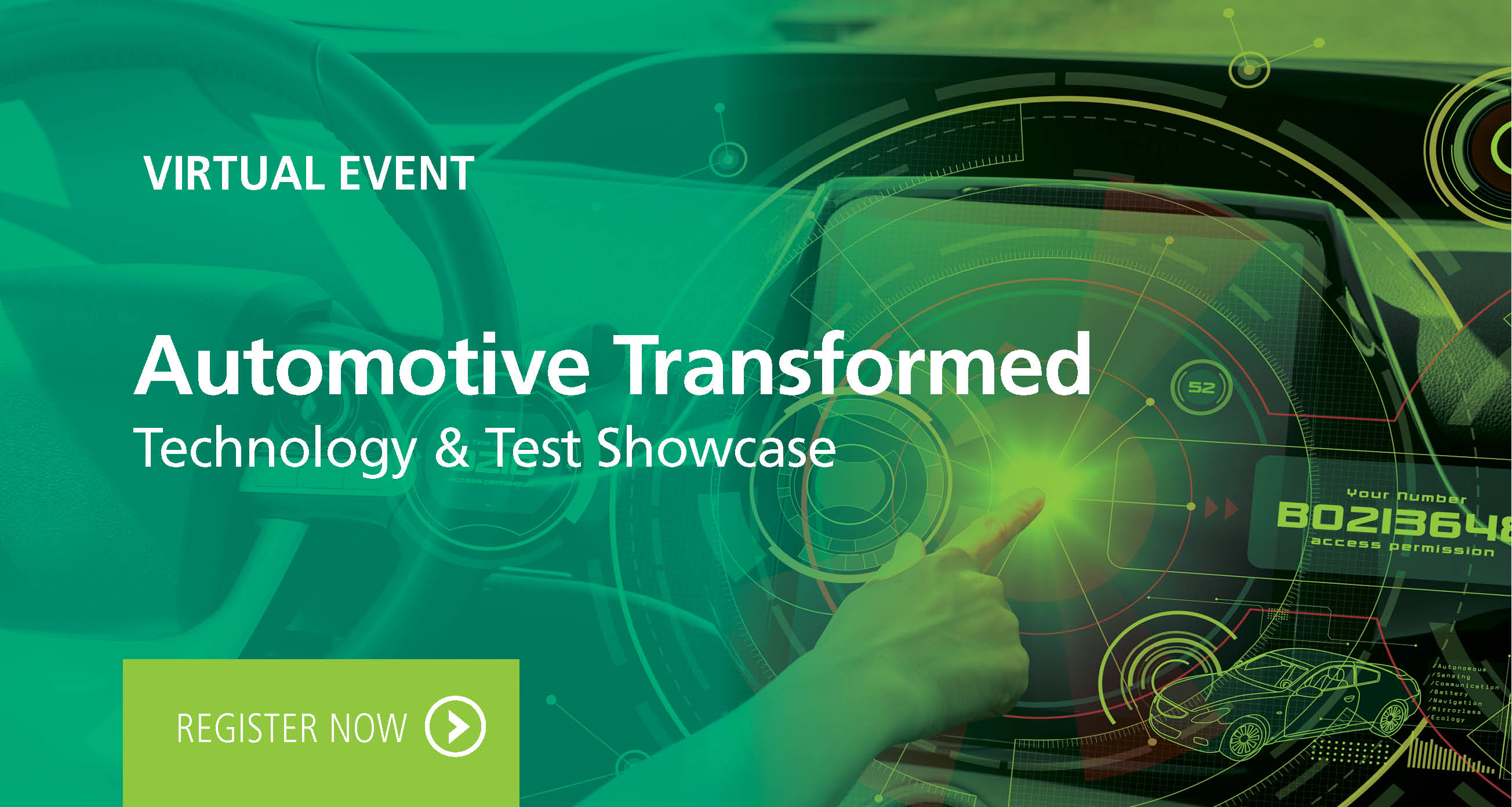 Automotive Transformed: Technology and Test Showcases Virtual Event