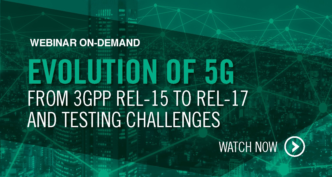 Evolution of 5G Webinar On-Demand