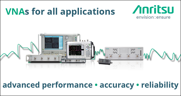 VNAs for all applications - advanced performance, accuracy, reliability