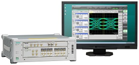 BERTWave™ (100G BERT,Sampling Oscilloscope) MP2110A Option054 with monitor