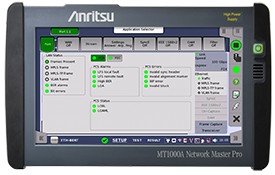 MT1000A Network Master Pro