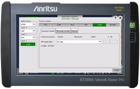 Strengthening Network Master Pro MT1000A Functions Support of 5G Mobile Network I&M