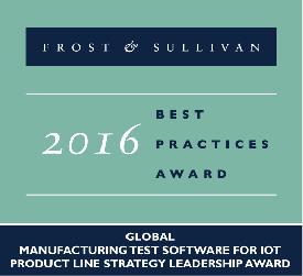 Anritsu Frost & Sullivan Award