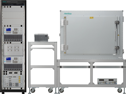 Anritsu and MediaTek first OTDOA (Observed Time Difference of Arrival) positioning test for 5G New Radio