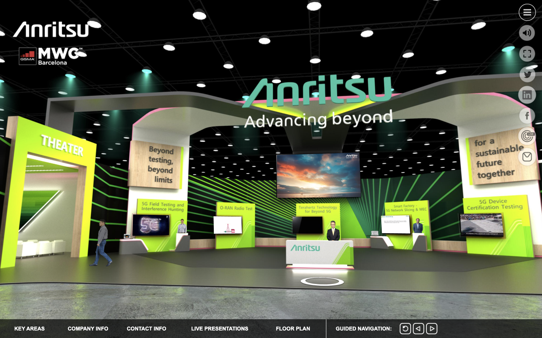 Anritsu Virtual Mobile World Congress #MWC21