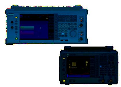 シグナルアナライザMS2692A/ベクトル信号発生器MG3710A