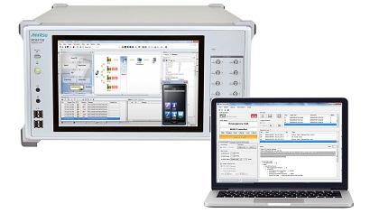 MD8475B & eCall Tester MX703330E