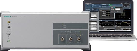 Bluetest 와 안리쓰, IEEE 802.11ax 6 GHz 대역(Wi-Fi 6E) 디바이스 OTA 측정 지원