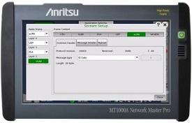 加强Network Master Pro MT1000A功能支持5G移动网络安装与维护