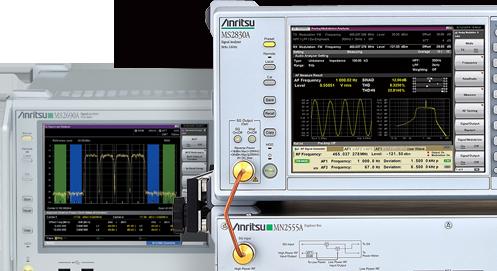 ディジタル通信関連測定器 シグナルアナライザ