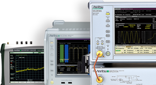 ディジタル通信関連測定器 スペクトラムアナライザ