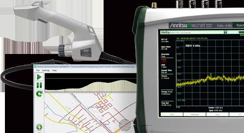 RF/マイクロ波関連測定器 妨害波探索