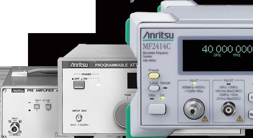 RF/マイクロ波関連測定器 その他の通信用計測器、応用部品