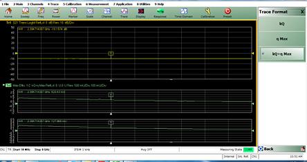 ワイヤレス伝送装置の効率(kQ、ηmax)測定機能