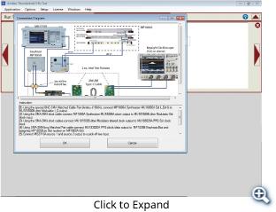 Calibration Setting and Measurement Screens
