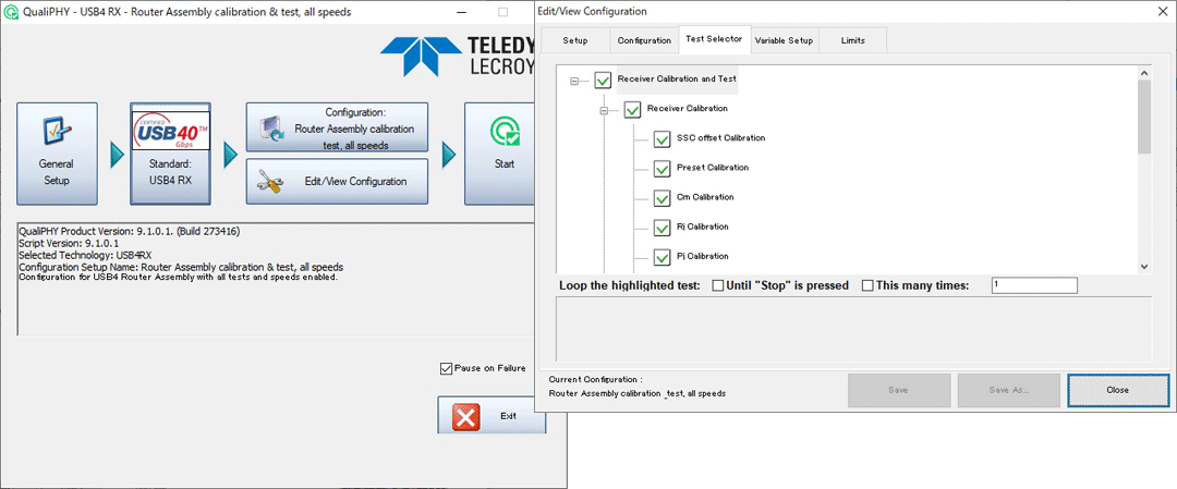 Teledyne LeCroy QPHY Software