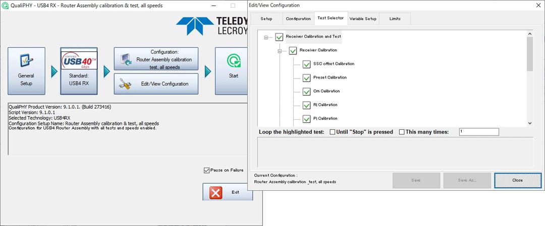 Teledyne LeCroyのQPHYソフトウェア