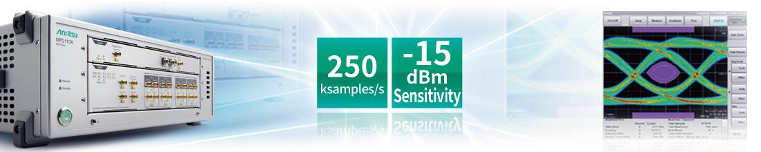 MP2110A Sampling Oscilloscope, Reduce Cost. Increase