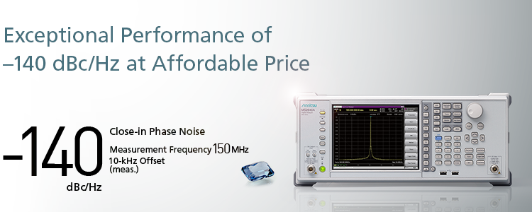 Exceptional Performance of -140 dBc/Hz at Affordable Price