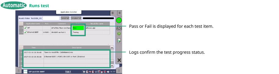 Runs test