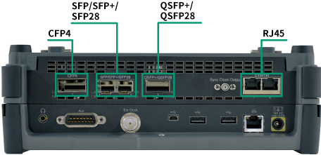 MT1000A Interfaces